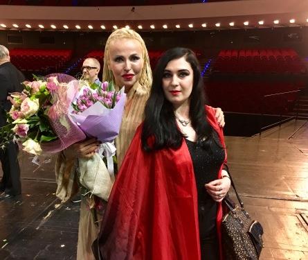 Beata Fischer i Monika Cichocka (Aida)