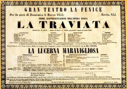 teatro-la-fenice-de-venecia-cartel-primera-de-la-Traviata-de-Verdi